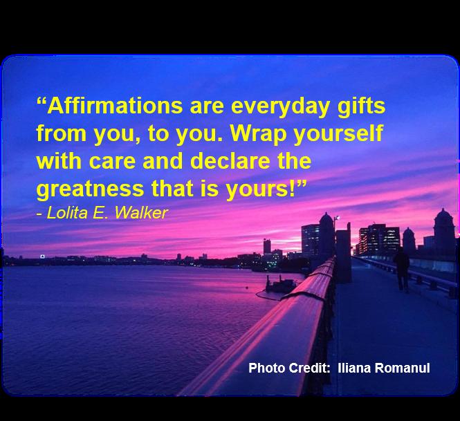 Affirmations by Lolita E. Walker