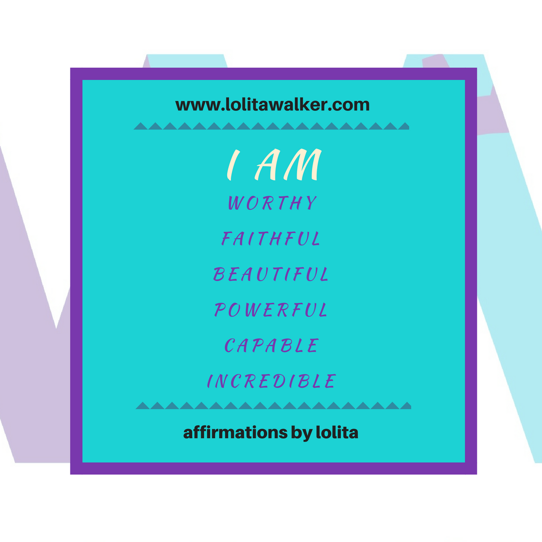 I AM.Lolita E walker