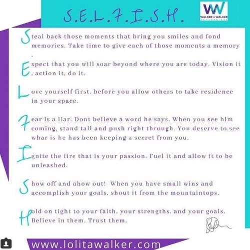 selfish instructional aronym by lolita e walker.JPG