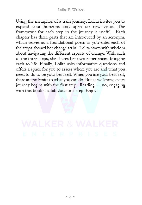Foreword for Lolita E. Walker's The Intersection of You & Change written by Dr. Stacy Blake Beard page 2.JPG