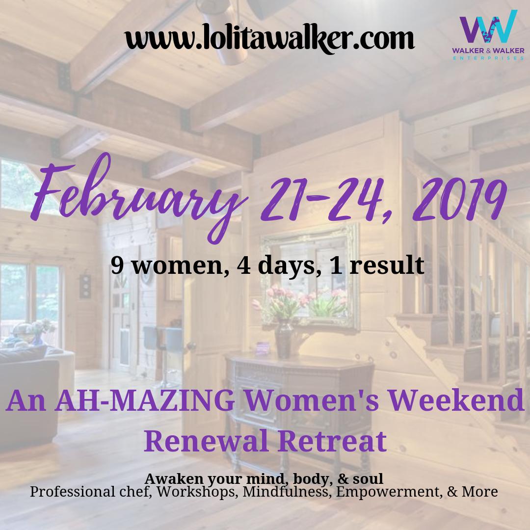 Women's Weekend Renewal Retreat - February 2019