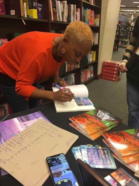 book signing at table chesapeake va.JPG