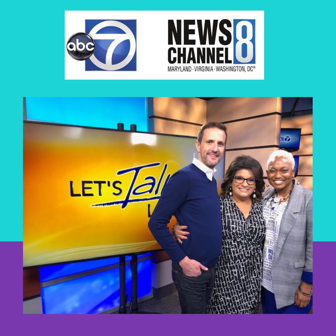 Lolita E. Walker of Walker & Walker Enterprises  Talks with Let's Talk Live - ABC News Channel 7 and 8