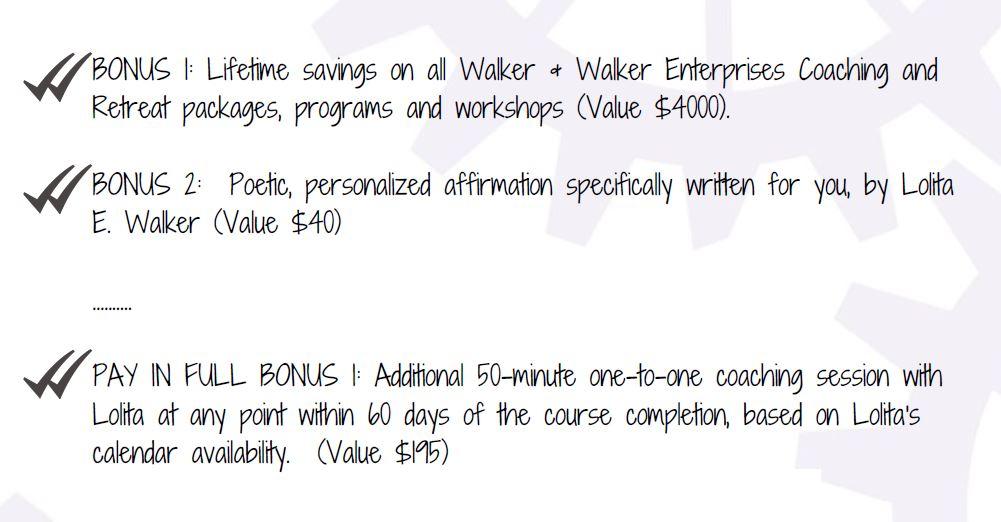 bonuses of the change intensive with walker & walker enterprises.JPG