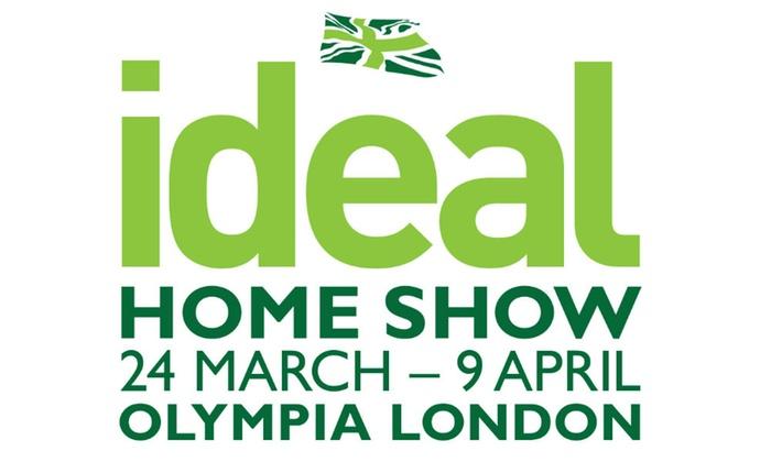 Ideal Home Show Logo dates venue