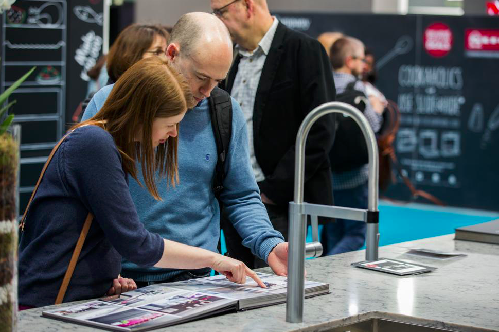 Ideal Home Show advice panels