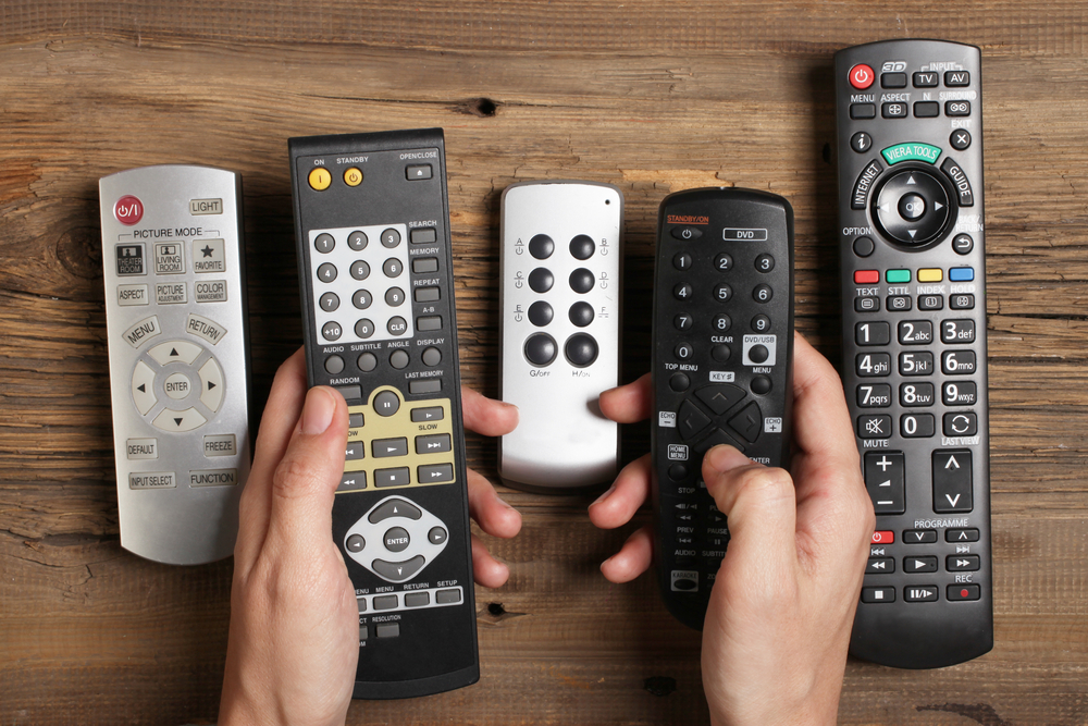 Television_Remote_Controllers_Too_Many_Home_Cinema_Home_Automation_Systems