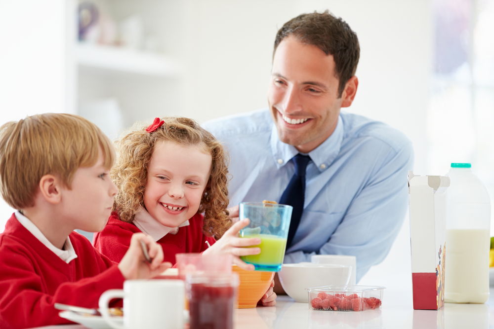 Father_Spending_Time_With_Children_Before_Going_To_Work_Home_Automation_Systems