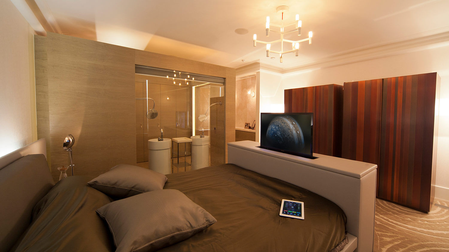 Luxury_Home_Automation_Future_Automation_Television_Lift_Bedroom_Apartment_Marylebone_NW1