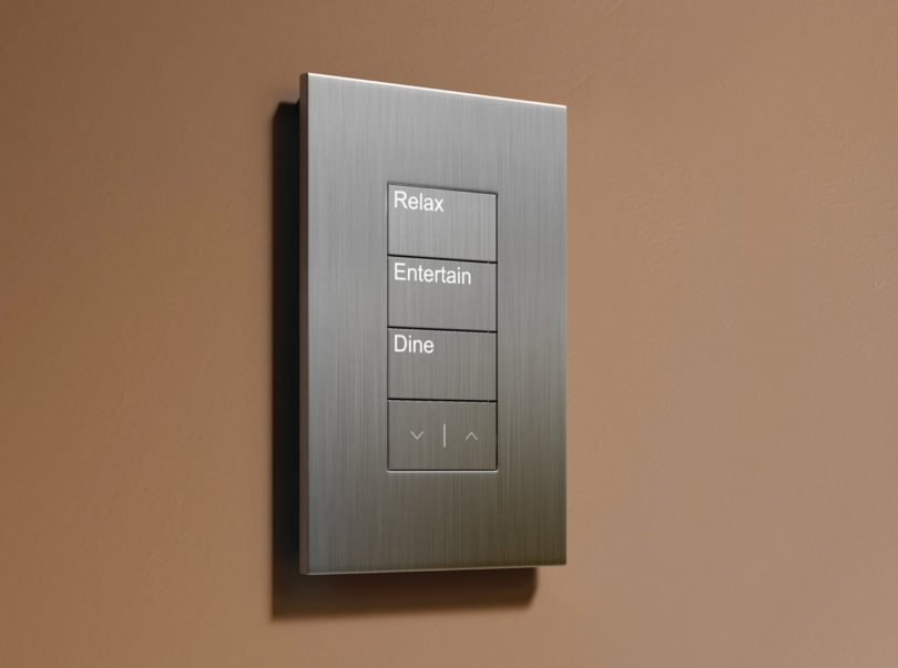 Lutron_Lighting_Palladiom_Keypad_Brown_Wall_Silver_Faceplate_Relax_Entertain_Dine_Buttons_White_Backlit_LED.jpg