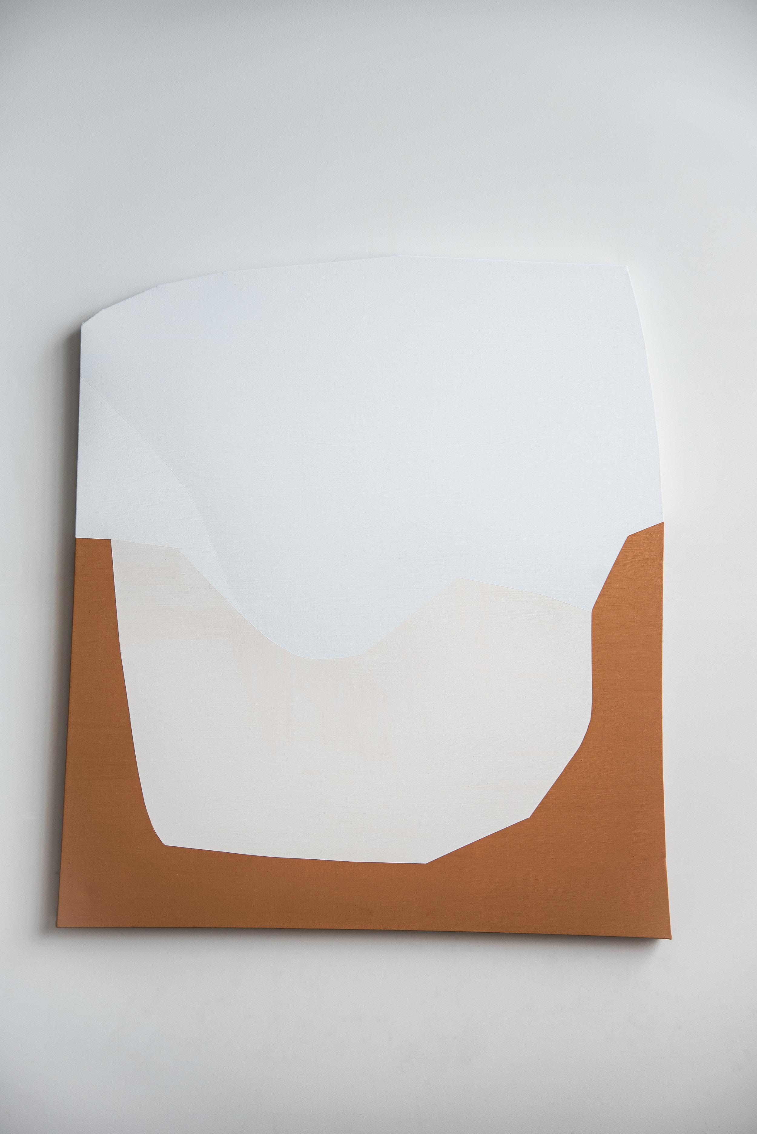Heat Wave  Acrylic on canvas  48 x 41.5 in  2018