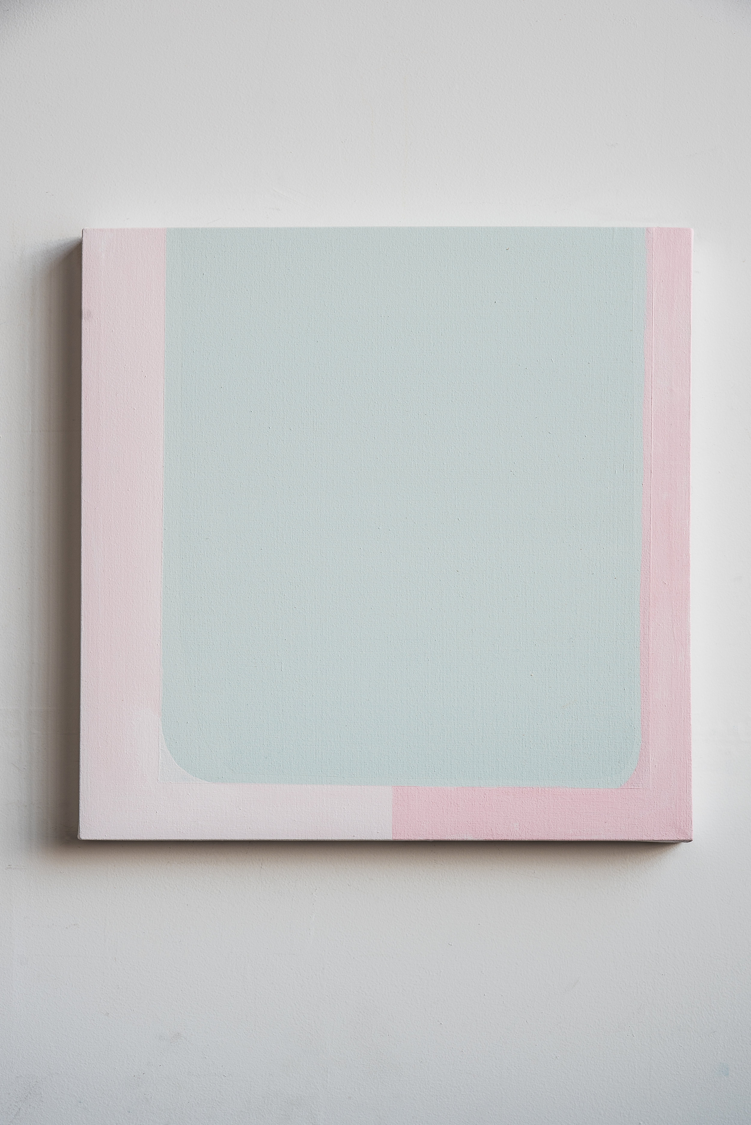 Sweet Radio Silence  Acrylic on canvas  24 x 24 in   2018