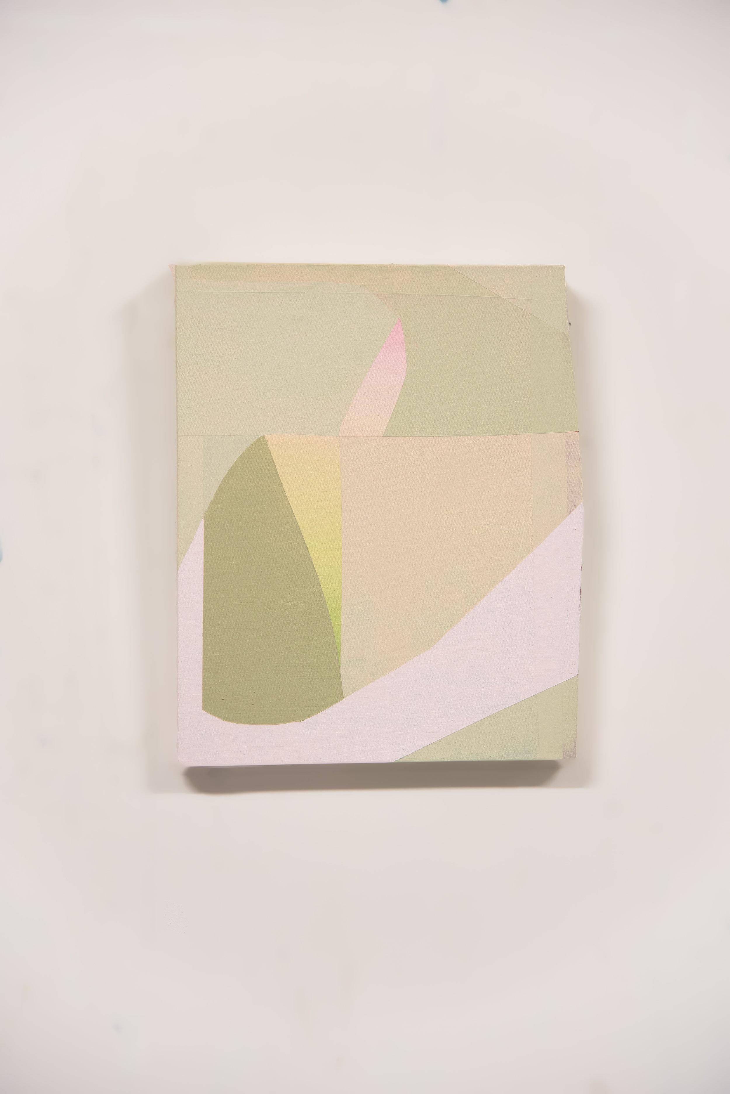 Proximity #3  Acrylic on canvas  18 x 22 in   2019