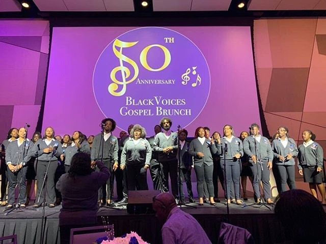 Our 50th Anniversary Gospel Brunch was a success! Thank you to all or the BV members that came before us for helping make this possible. We are so blessed to have a choir with such a strong foundation and support from our BV family. To 50 more years! #BV4L 💙🥂 • • • We would also like to thank the Office for Institutional Diversity, the Gaines Center, the Alumni Association, the Year or Equity Committee, and the Assistant Vice President and the Office for Community Engagement for making our event possible. • • Be on the lookout for more from us this year!
