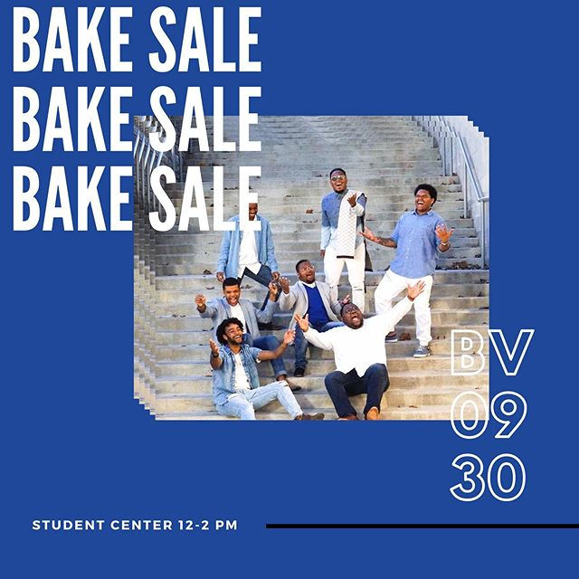 Meet us tomorrow in the student center for our first bake sale! 12-2 pm!!! All contributions will help us fund our 50th year anniversary celebration! 💙🧁