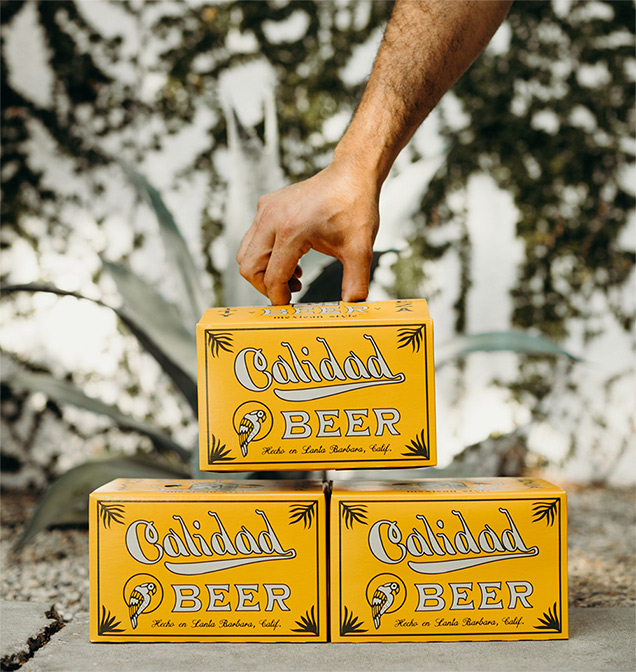 calidad beer California approach to Mexican-style beer content creation by Meraki Narrative: A Branding, Design, and Creative Agency