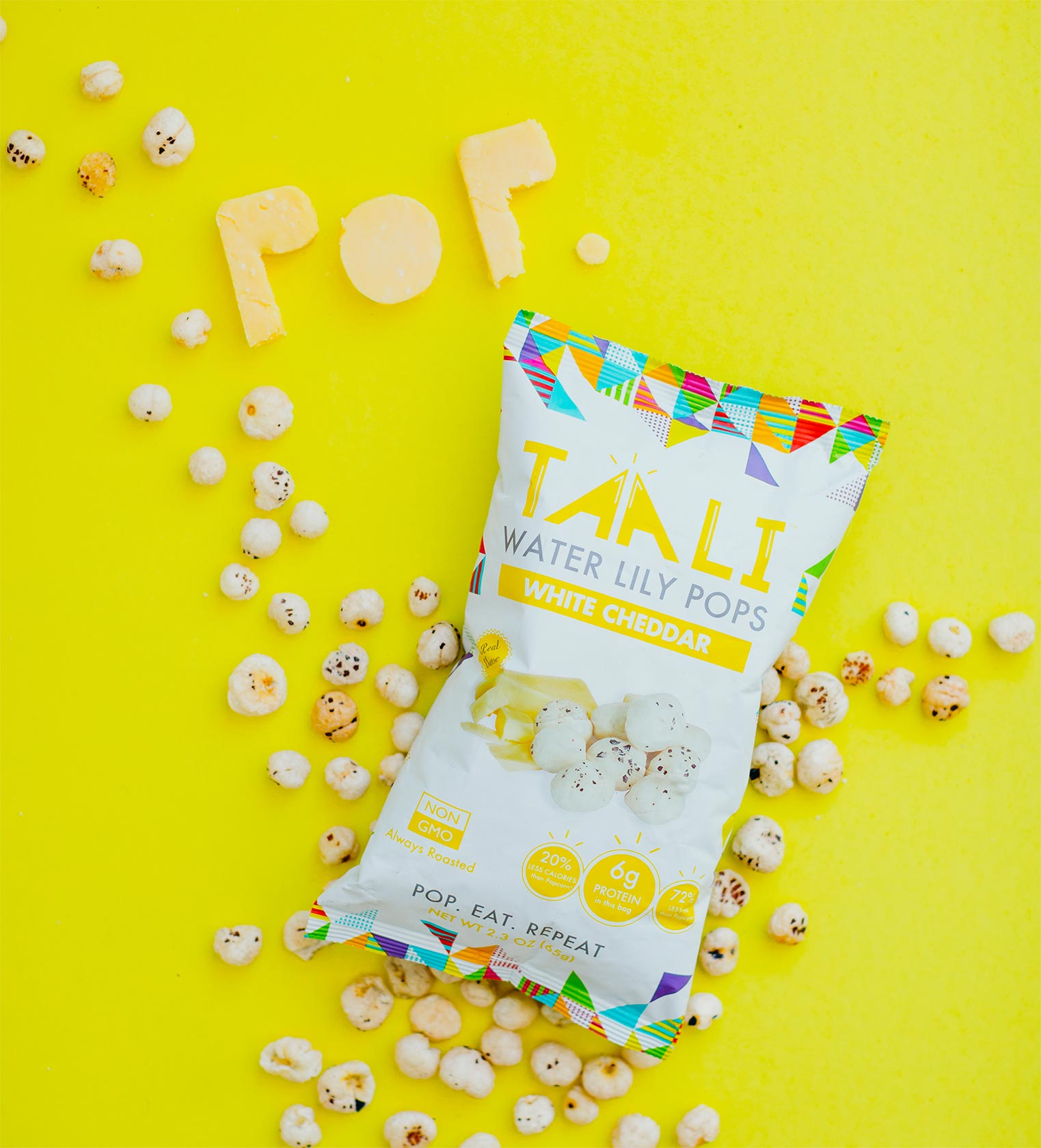 Taali Water Lily Pops is an all natural plant based snack content creation by Meraki Narrative: A Branding, Design, and Creative Agency