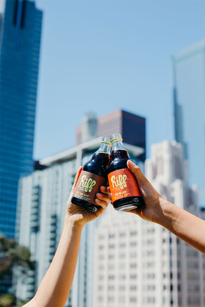 Cold Brewed Coffee content creation by Meraki Narrative: A Branding, Design, and Creative Agency
