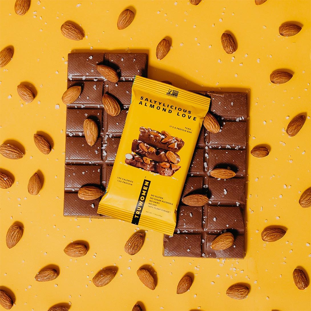 Truwomen vegan protein bars content creation by Meraki Narrative: A Branding, Design, and Creative Agency