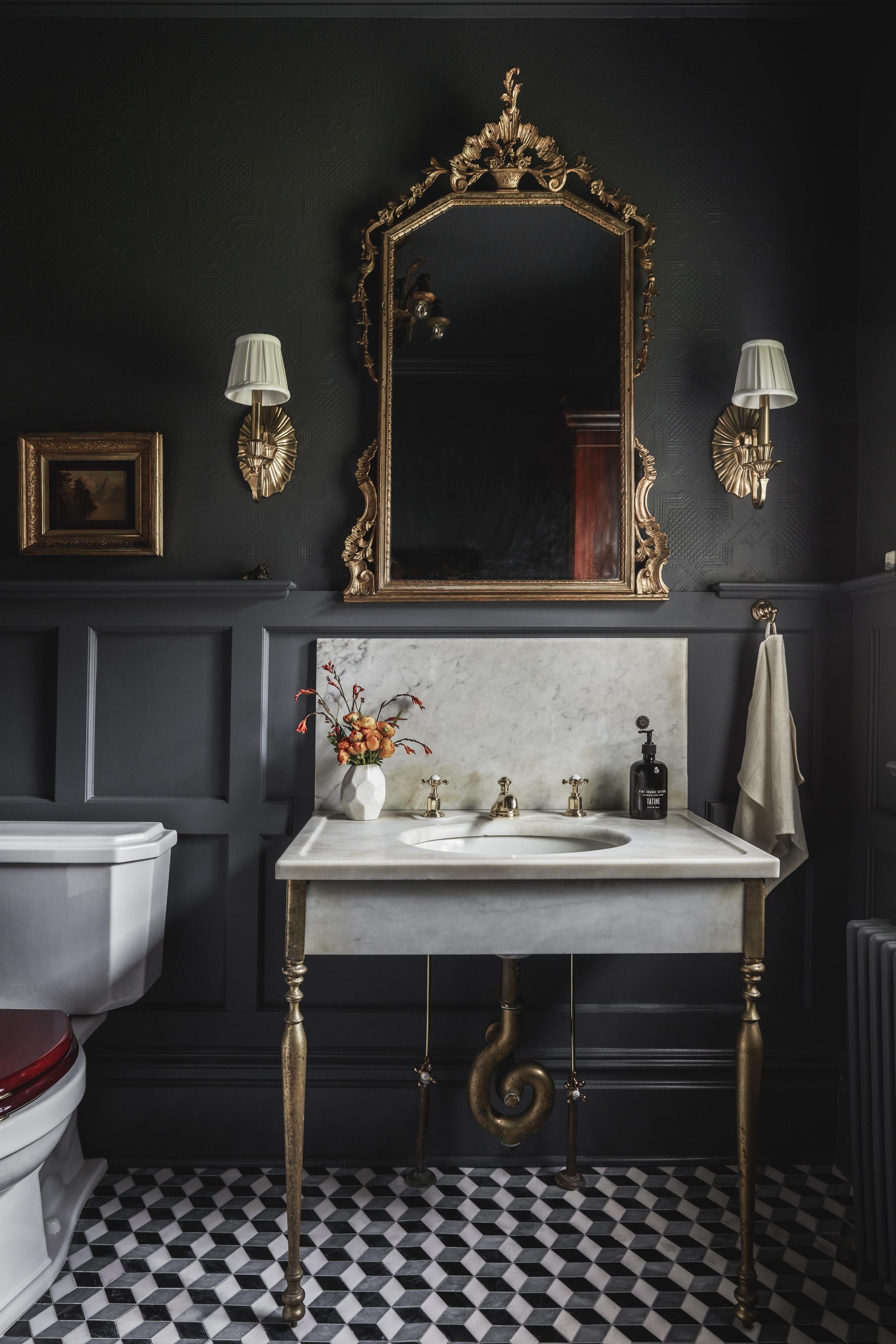 ONE ROOM CHALLENGE - First Floor Bathroom