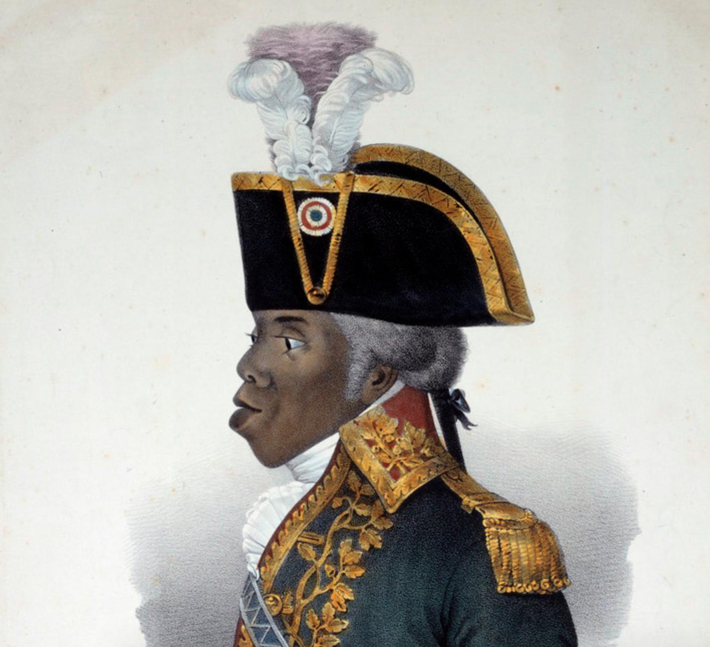 Portrait of Toussaint L'Ouverture (1743-1803) (Photo by Josse/Leemage).