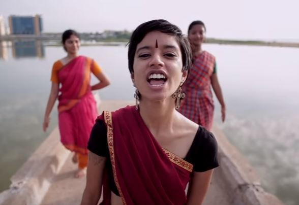 JHATKAA  A still from a viral parody music video pressuring Unilever to pay compensation to 591 victims of mercury poisoning.