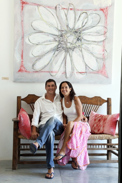 The Founders of Pacific Luxury Villas - Marco & Monica