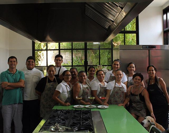 HomeMade Peru at Pueblo25 !!! Cooking lessons..... Thank you Gina @home_made_peru #careyes #honestfood