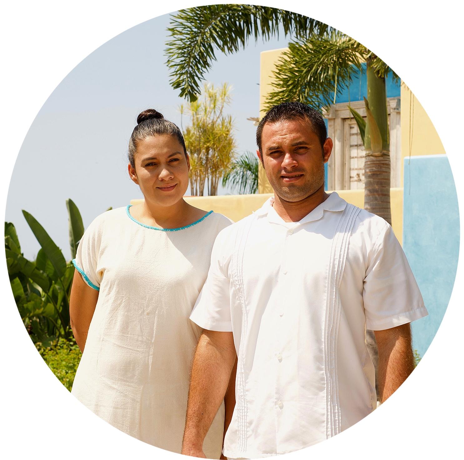 The Staff at Casa Palomir, Sandra & Antonio