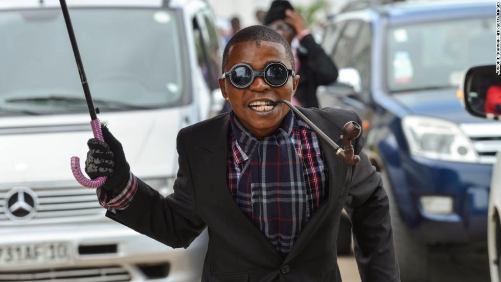 Photo: Death before dishevelment: Enter into Congo's Cult of Elegance - Source CNN