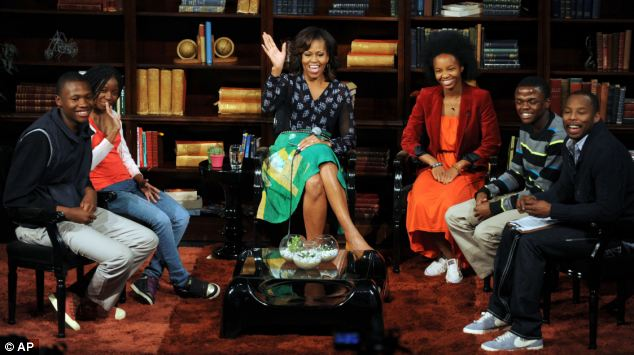 The design elegance ofAmaka Osakwe - Michelle Obama Wearing Maki Oh.jpg