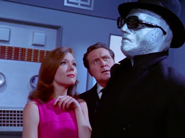 "50 Years ago, Iconic Sexy Super Spy Emma Peel Became TV's First Female Action Hero - ""Return Of The Cybernauts"""