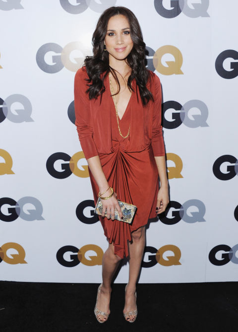Meghan Markle arrives at GQ Men Of The Year Party at Chateau Marmont, November 2012