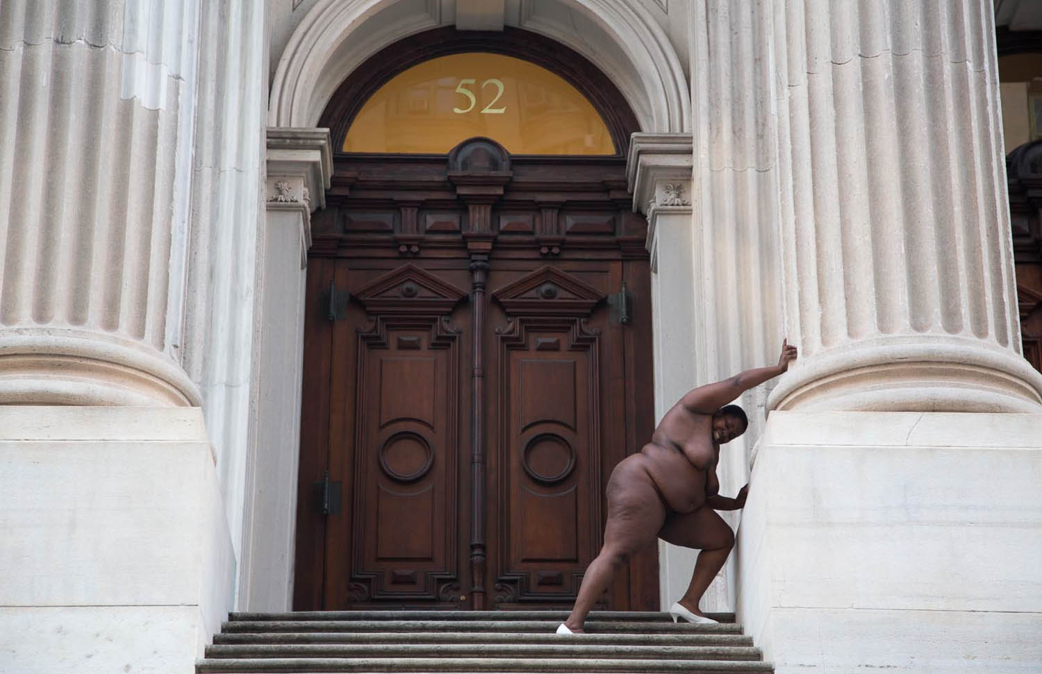 15 Nona Faustine, They Tagged The Land With Trophies and Institutions From Their Rapes and Conquests, Tweed Court House (1 of 1).jpg