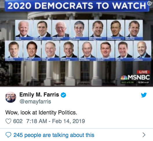 All White All Male MSNBC Democrats Identity Politics Openletr Feminist News.png