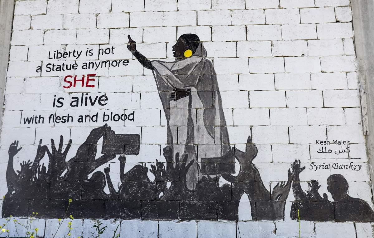 Sudanese Revolution The Woman in White Openletr Feminist News.jpg