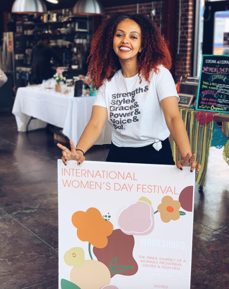 "OpenLetr Interview Let the Ethiopian Maereg ""Mimo"" Haile Inspire You With Her Story, Her Activism, and Her Smile, Women's Empowerment Day Festival.png"