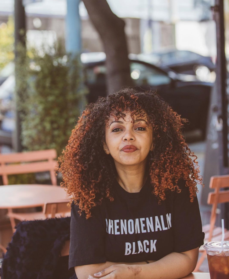 """OpenLetr Interview Let the Ethiopian Maereg """"Mimo"""" Haile Inspire You With Her Story, Her Activism, and Her Smile, Hair.png"""
