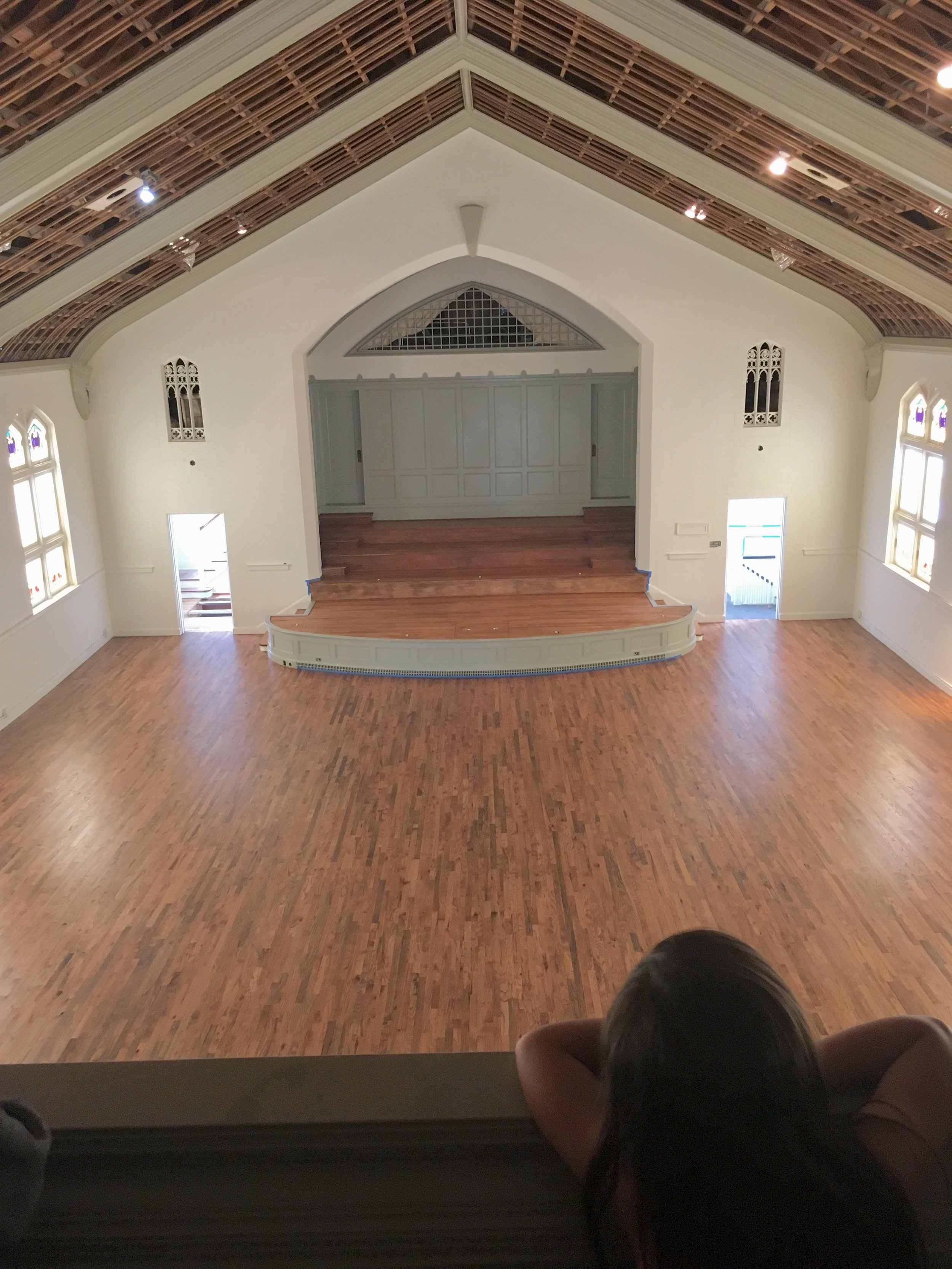 Dreaming of transformation, Arts Mission is a place in Oak Cliff for creative coworking and local performing arts.  Photo Credit: Arts Mission Oak Cliff