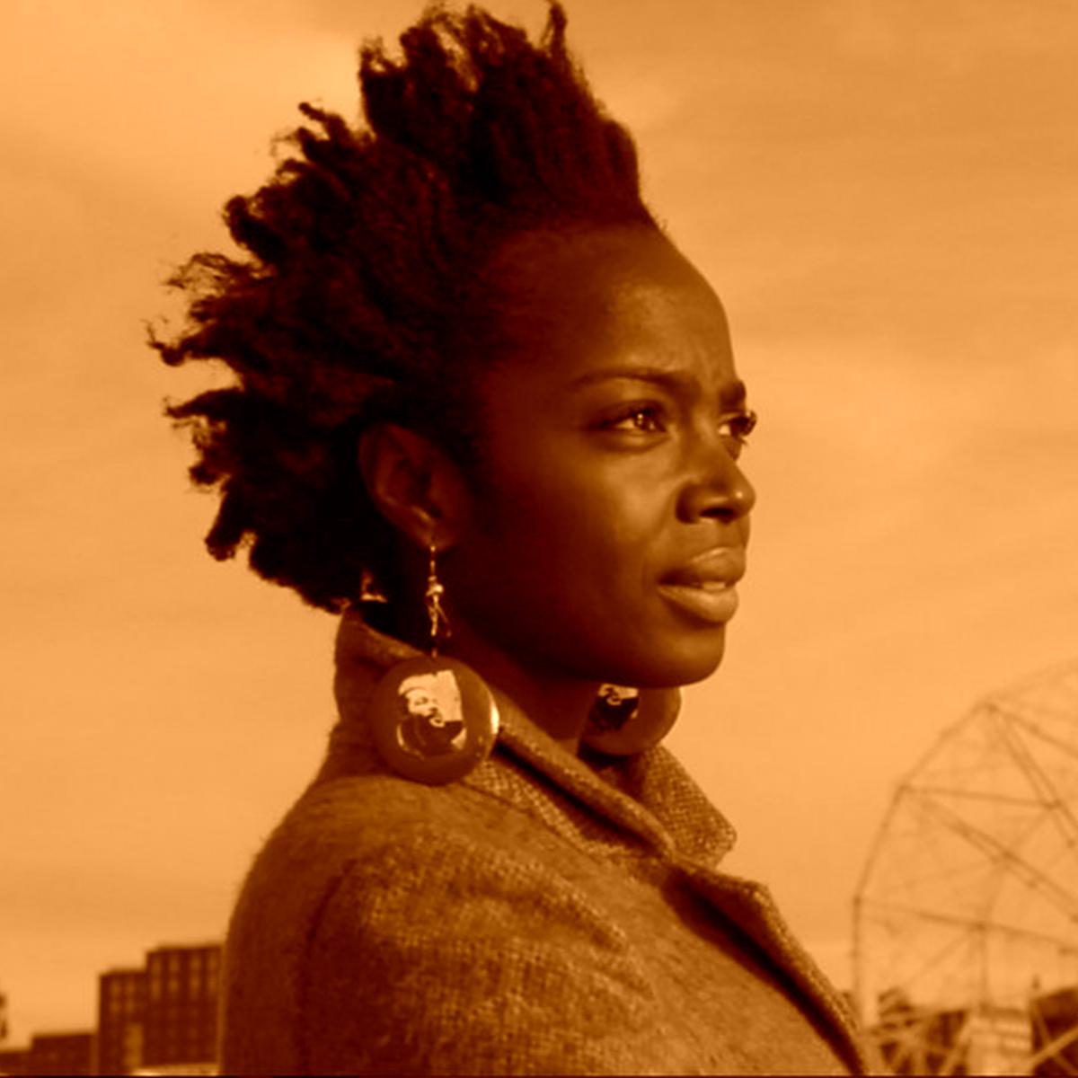 Nigerian director Iquo B. Essien - MaameYaa Boafo in New York I Love You