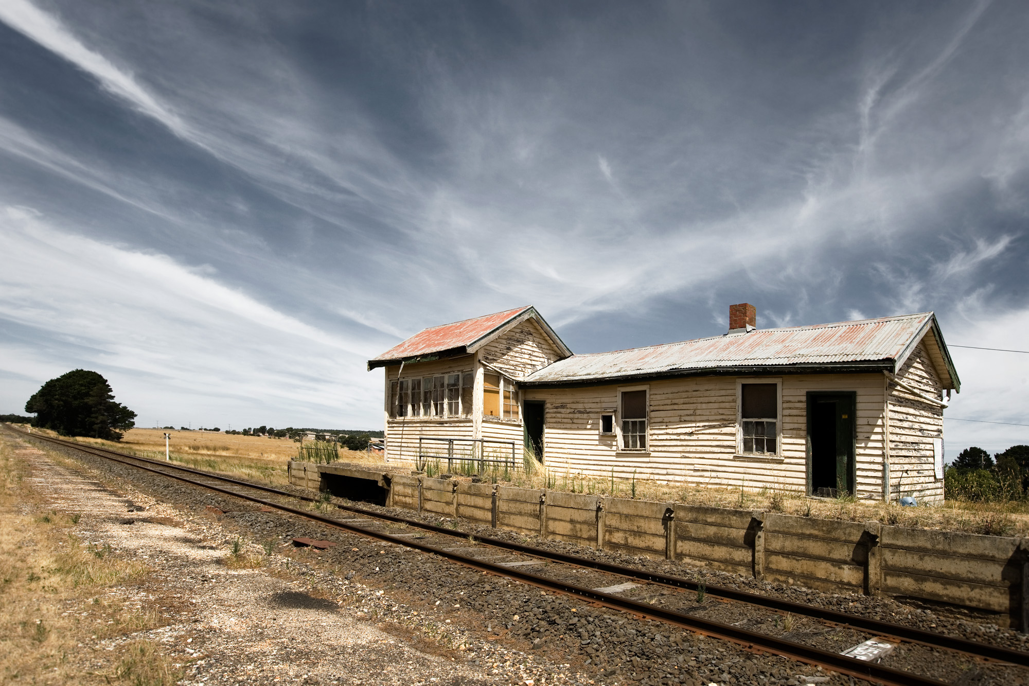 Trawalla Railway Station