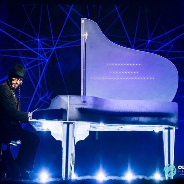 #Russian #Gala #Awards #Ceremony #Performance a few weeks ago!  #piano #LED #grandpiano #instapianist #pianolove #arduino #synesthesia