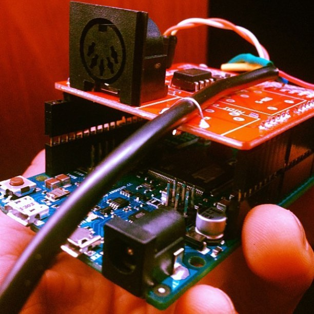 The #brain of the #LuminescentGrand :) . . . . #arduino #technology #midi #piano #led #music #DIY #music #science #code #c++ #instagood #makersgonnamake #makersmovement #make . . . . . @themakerstation @makemagazine @makerfaire @makerfairerome @makerfaireaustin @makerfaireatlanta @arduino.cc @arduino_world @keyboardmag