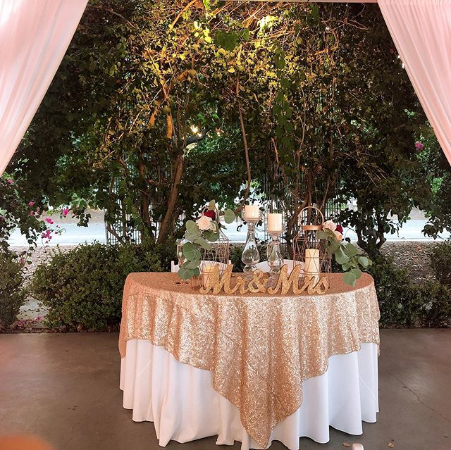 Friday the 13th wedding with a gorgeous full harvest moon🌛 How gorgeous was this blush and gold setup ❤️ congratulations Veronica & Arash wishing you happiness in your new journey! Love the grooms cake🚘 @countrygardencaterers @sigpartyrentals  @hmoc #countrygardencaterers  #fridaythe13thwedding