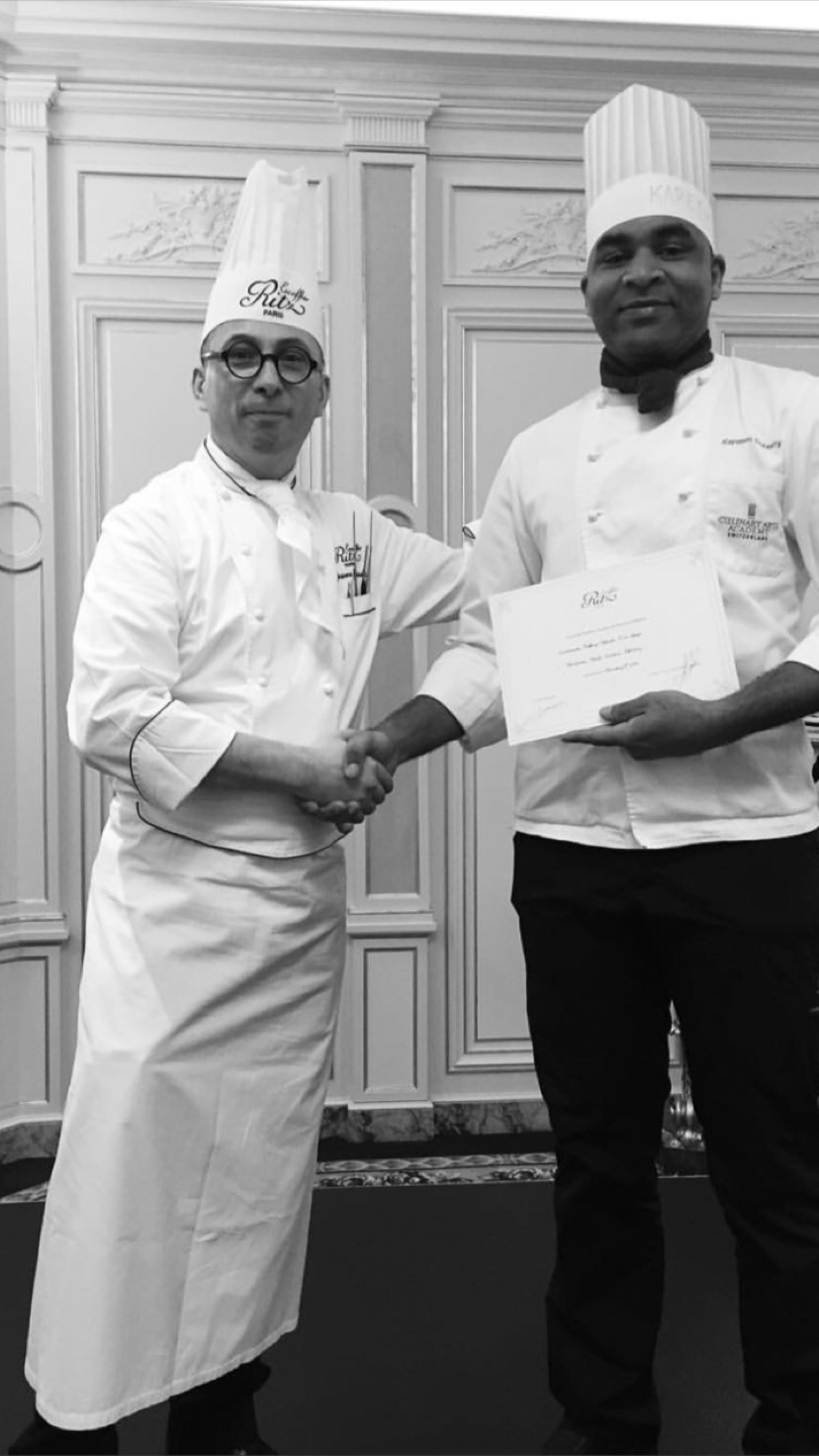 Kareem is currently working at The Burgenstock Resort in Lucerne, Switzerland as a practician chef.