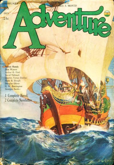 Adventure , February 10, 1925