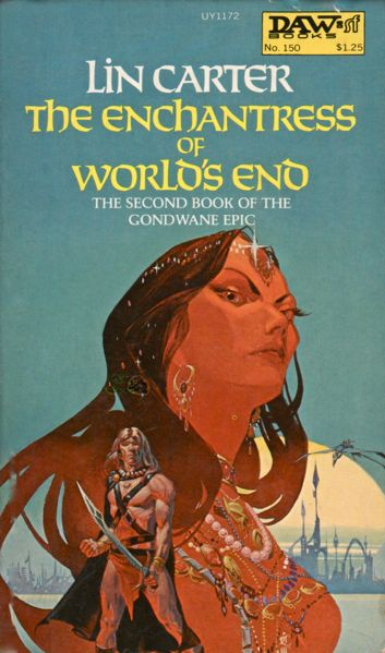 Michael Whelan's first cover for DAW Books.