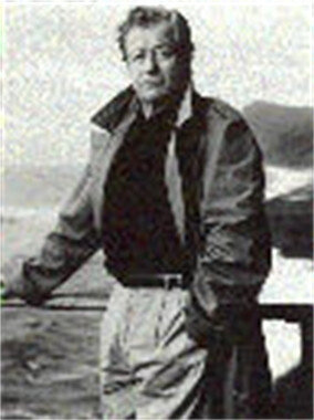 James Clavell in the late 1970s, when  Shōgun  had made him a worldwide sensation.
