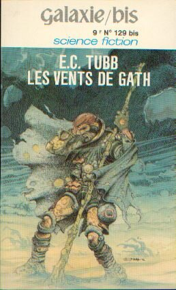A French edition of  The Winds of Gath  with an Enki Bilal cover.