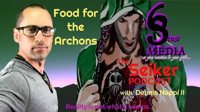 In this week's podcast I read for the first time, the first chapter in Food for the Archons. We are all #psychic, and the #archons are feeding on us...